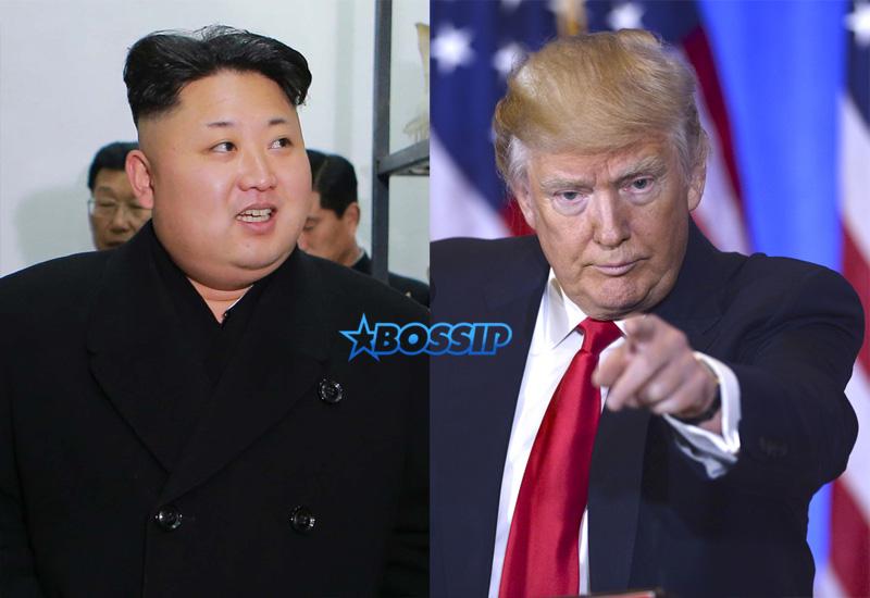Kim Jong Un Donald Trump WENN