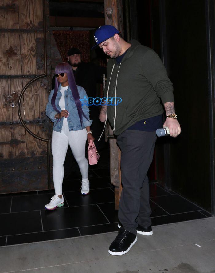 Rob Kardashian Blac Chyna Tao White Rolls Royce SplashNews