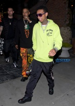 Tyga was all smiles leaving 'Avenue' Club in Hollywood just 10 minutes before being arrested by the LAPD and taken into custody. SplashNews
