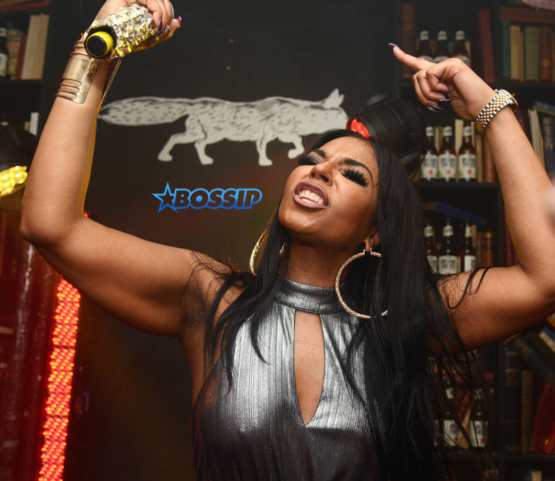 Ashanti performs at 1a Dame Lane as part of the Orchard Thieves Cider 'Start Bold End Bold' immersive experience in Dublin WENN