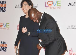 The 24th Annual Race To Erase MS Gala - Arrivals Featuring: Kris Jenner, Corey Gamble Where: Los Angeles, California, United States When: 05 May 2017 Credit: Apega/WENN.com