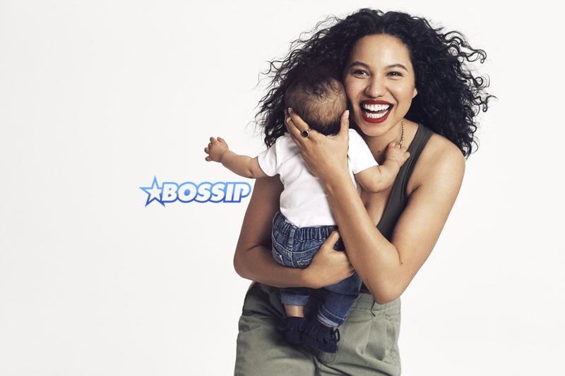 Jurnee Smollett-Bell son Hunter Gap #MamaSaid campaign for Every Mother Counts SplashNews/Gap