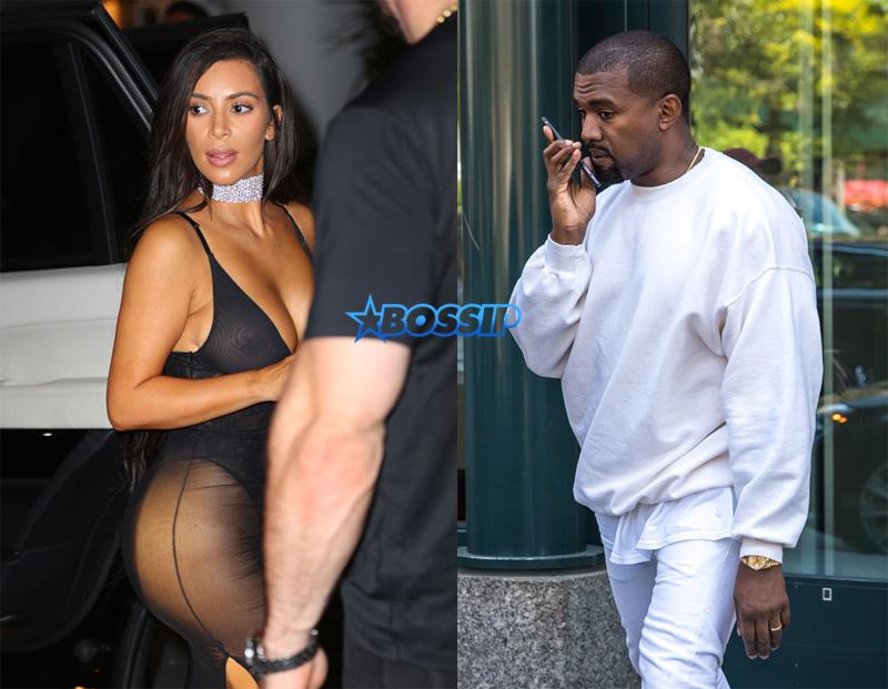 Kim Kardashian SplashNews Kanye West WENN