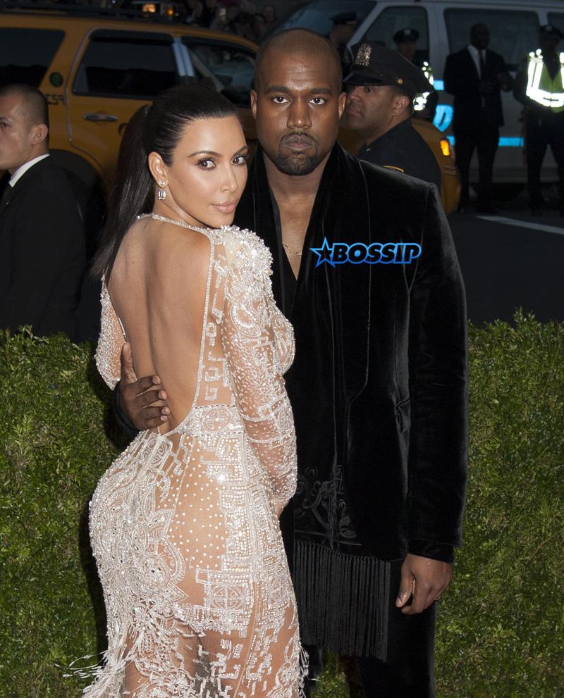 2015 MET Costume Gala  China Through the Looking Glass Kim Kardashian Kanye West WENN
