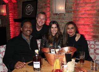 Richard Lawson, CEO of PRG Steven Greenberg, Kristine Greenberg , and Tina Knowles Lawson attend IGA X BET Awards Party 2017 on June 24, 2017 in West Hollywood, California.