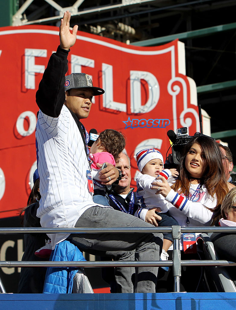 Addison Russell #27 of the Chicago Cubs (Photo by Dylan Buell/Getty Images)