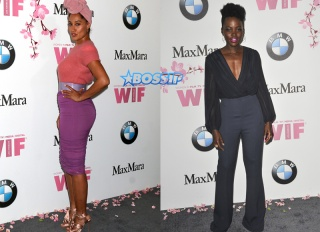 Lupita Nyong'o Tracee Ellis Ross Women in Film celebrates the 2017 Crystal and Lucy Awards at the Beverly Hilton Hotel Nicky Nelson/WENN.com