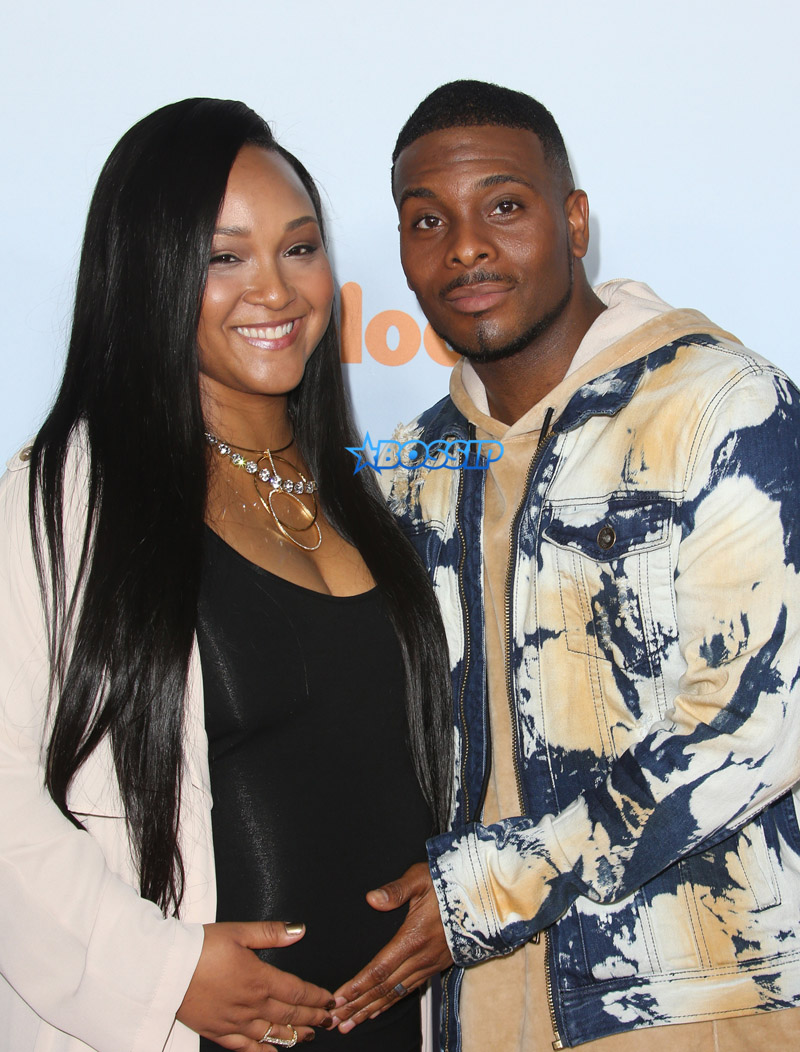 Celebrities spotted at the Nickelodeon's Kids' Choice Awards 2017 in Los Angeles, California.  Asia Lee and Kel Mitchell