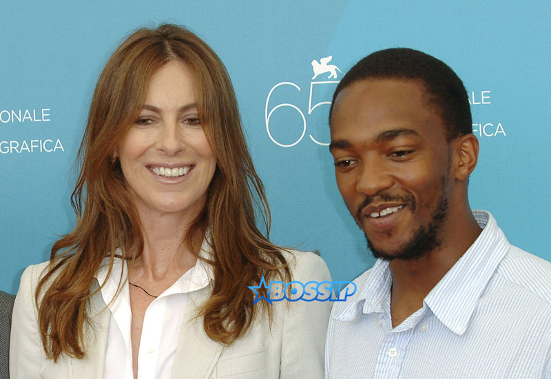 Anthony Mackie, Jeremy Renner and Brian Geraghty, Kathryn Bigelow The 2008 Venice Film