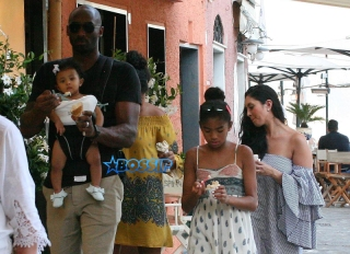 Former NBA player Kobe Bryant holidaying in Portofino, Italy with his family Featuring: Gianna Maria-Onore Bryant, Bianka Bella Bryant, Natalia Diamante Bryant, Vanessa Laine Bryant, Kobe Bryant
