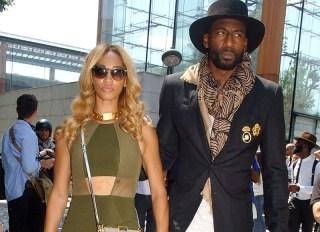 Paris Men's Fashion Week Spring/Summer 2016 - Louis Vuitton - Outside Arrivals Featuring: Alexis Welch, Amar'e Stoudemire Where: Paris, France When: 25 Jun 2015