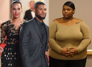 Quantasia Sharpton, Usher and Grace Miguel