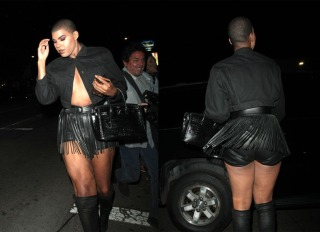 Basketball Legend Magic Johnson's openly gay son, EJ spotted clubbing at Poppy ,in West Hollywood, CA