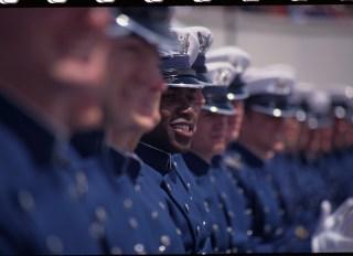 (Original Caption) Colorado: US Air Force Academy Graduation.