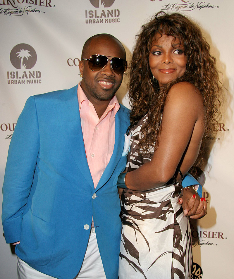 Jermaine Dupri and Janet Jackson at Jermaine Dupri's Post BET (Black Entertainment Television) awards soiree at the Highlands in West Hollywood, CA.