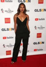Alisha Boe Celebrities attend GLSEN Respect Awards at Beverly Wilshire Hotel