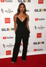 Alisha Boe Celebrities attend GLSEN Respect Awards at Beverly Wilshire Hotel