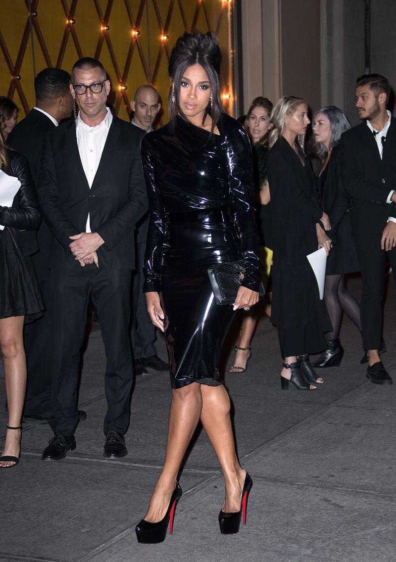 Ciara at a Bulgari event in New York
