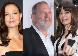 Ashley Judd Harvey Weinstein Rose McGowan