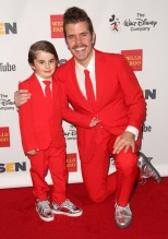 Perez Hilton, Mario Lavandeira III Celebrities attend GLSEN Respect Awards at Beverly Wilshire Hotel