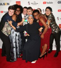 Rosario Dawson Arheghan Celebrities attend GLSEN Respect Awards at Beverly Wilshire Hotel