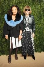 Diane Von Furstenberg Anna Wintour Arrivals for the Fourteenth Annual CFDA/VOGUE Fashion Fund Awards, held at the Weylin B. Seymour event space in Brooklyn, New York