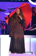 2017 Soul Train Awards Show at Orleans Arena Erykah Badu
