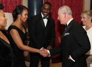 The Prince of Wales, Charles, hosts the 'One Million Young Lives' dinner at Buckingham Palace on December 14, 2017 in London, England.
