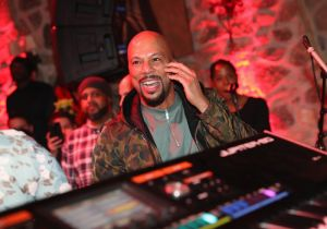 PARK CITY, UT - JANUARY 20: Common performs as The House of Remy Martin celebrates the APEX Social Club at the WanderLuxxe House with Common and Friends on January 20, 2018 in Park City, Utah.