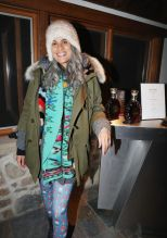 PARK CITY, UT - JANUARY 20: Film Producer Mimi Valdes attends as The House of Remy Martin celebrates the APEX Social Club at the WanderLuxxe House with Common and Friends on January 20, 2018 in Park City, Utah.