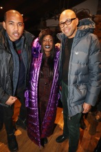 PARK CITY, UT - JANUARY 20: (L-R) Andre Watson, Phylicia Fant and Brickson Diamond attend as The House of Remy Martin celebrates the APEX Social Club at the WanderLuxxe House with Common and Friends on January 20, 2018 in Park City, Utah.