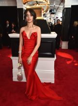 NEW YORK, NY - JANUARY 28: Recording artist Camila Cabello attends the 60th Annual GRAMMY Awards at Madison Square Garden on January 28, 2018 in New York City.
