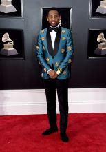 NEW YORK, NY - JANUARY 28: Recording artist Fabolous attends the 60th Annual GRAMMY Awards at Madison Square Garden on January 28, 2018 in New York City.