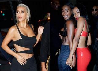 Kim Kardashian Bria Myles