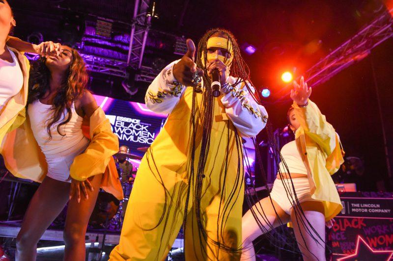 NEW YORK, NY - JANUARY 25: Essence Black Women in Music sponsored by Lincoln Motor Company at the Highline Ballroom on Thursday, January 25, 2018, in New York, NY, USA.