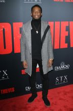 Woody McClain Den of Thieves premiere