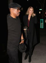 Eddie Murphy and Paige Butcher Leave a Private Party at Maestros