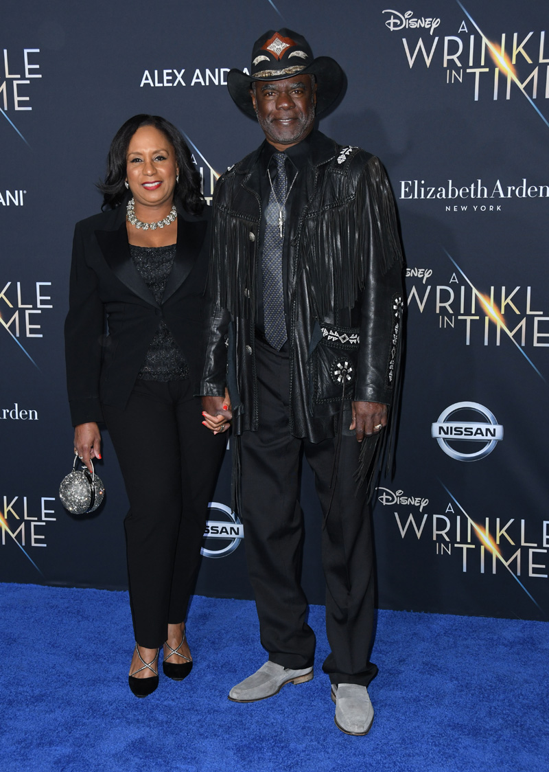 Glynn Turman February 26, 2018 - Los Angeles, California, United States - February 26h 2018 - Los Angeles, California USA - The ''A Wrinkle In Time'' Premiere held at the El Capitan Theater, Hollywood, Los Angeles.