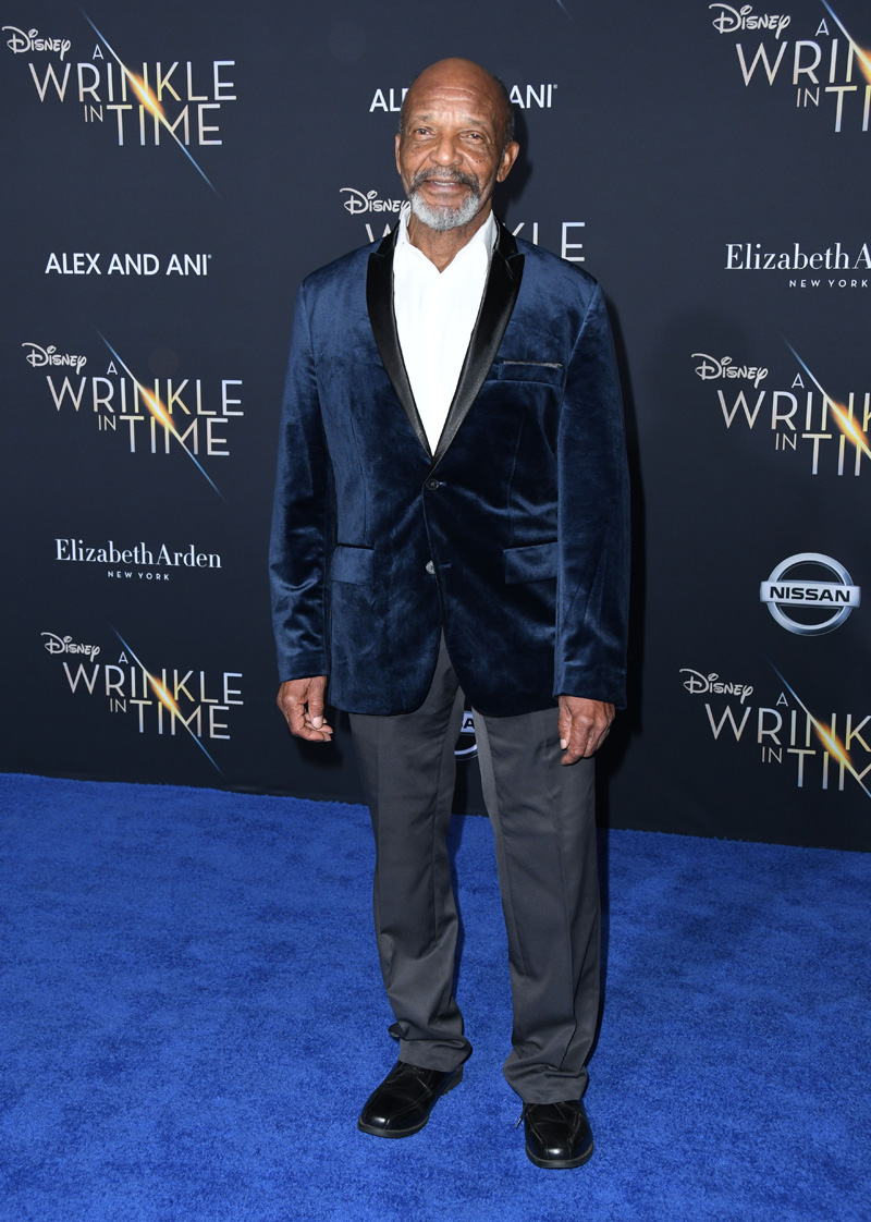 Henry Sanders February 26, 2018 - Los Angeles, California, United States - February 26h 2018 - Los Angeles, California USA - The ''A Wrinkle In Time'' Premiere held at the El Capitan Theater, Hollywood, Los Angeles.