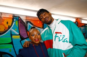 """Naturi Naughton Iman Shumpert Teyana Taylor celebrates the grand opening of """"Junie Bee Nails"""" with celeb friends in NYC"""