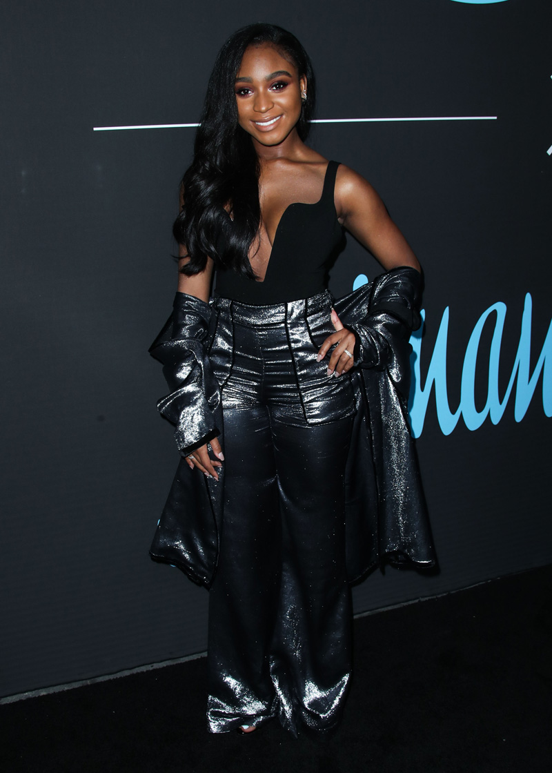 Normani Kordei LOS ANGELES, CA, USA - FEBRUARY 17: 2018 GQ All Star Party held at The NoMad Hotel Los Angeles on February 17, 2018 in Los Angeles, California, United States.