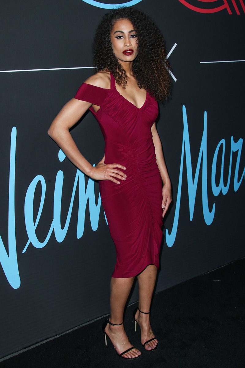 Skylar Diggins-Smith LOS ANGELES, CA, USA - FEBRUARY 17: 2018 GQ All Star Party held at The NoMad Hotel Los Angeles on February 17, 2018 in Los Angeles, California, United States.