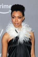Sonequa Martin-Green Gina Rodriguez Several celebs attend the 20th Annual Costume Designers Guild Awards held at The Beverly Hilton Hotel in Los Angeles, USA.