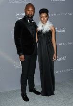 Kenric Green and Sonequa Martin-Green Gina Rodriguez Several celebs attend the 20th Annual Costume Designers Guild Awards held at The Beverly Hilton Hotel in Los Angeles, USA.