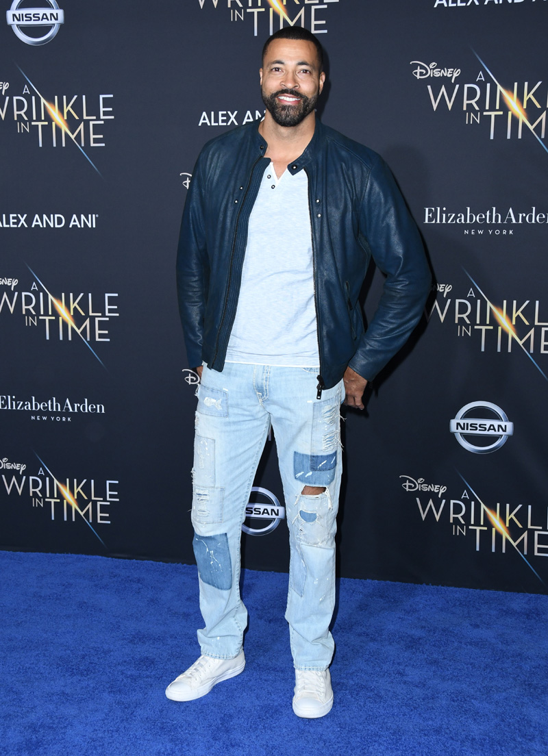 Timon Kyle Durrett February 26, 2018 - Los Angeles, California, United States - February 26h 2018 - Los Angeles, California USA - The ''A Wrinkle In Time'' Premiere held at the El Capitan Theater, Hollywood, Los Angeles.