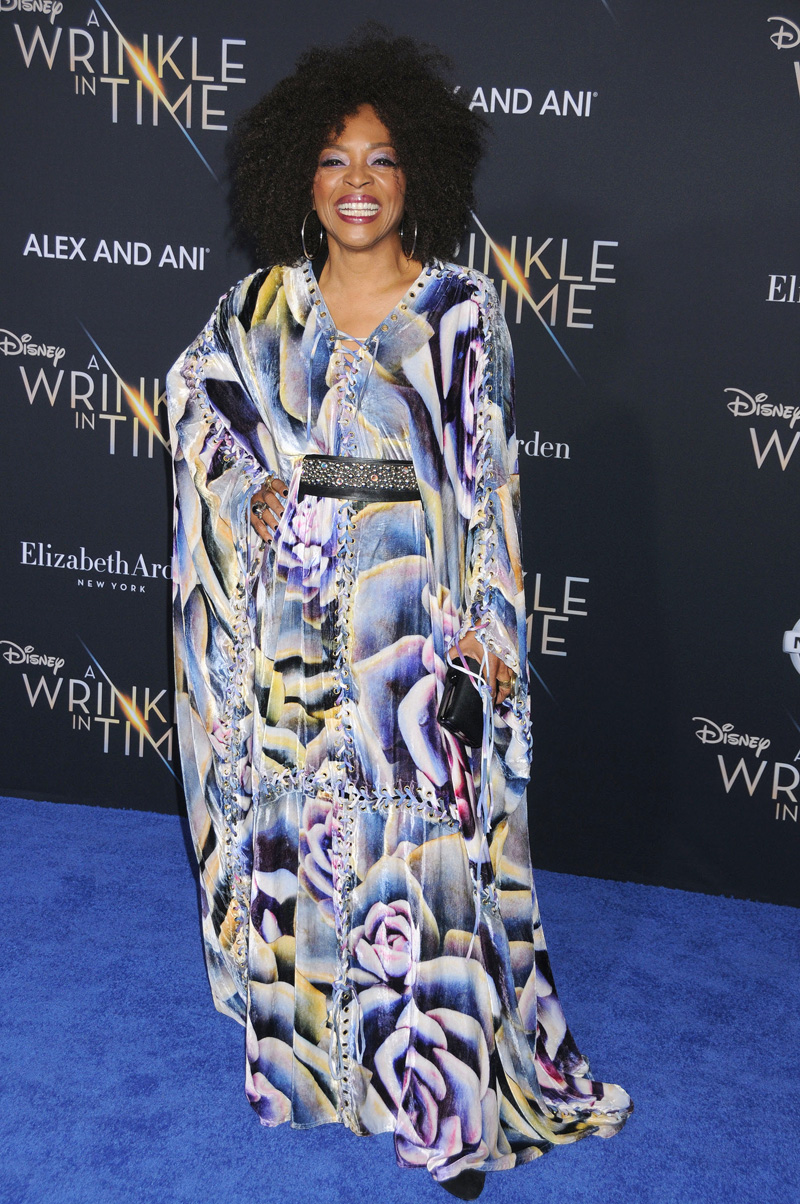 Tina Lifford February 26, 2018 - Los Angeles, California, United States - February 26h 2018 - Los Angeles, California USA - The ''A Wrinkle In Time'' Premiere held at the El Capitan Theater, Hollywood, Los Angeles.