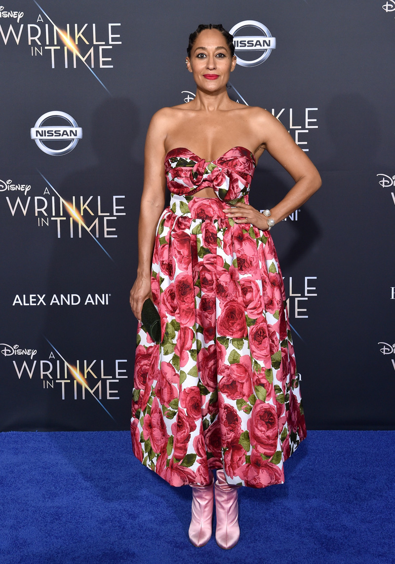 Tracee Ellis Ross February 26, 2018 - Los Angeles, California, United States - February 26h 2018 - Los Angeles, California USA - The ''A Wrinkle In Time'' Premiere held at the El Capitan Theater, Hollywood, Los Angeles.