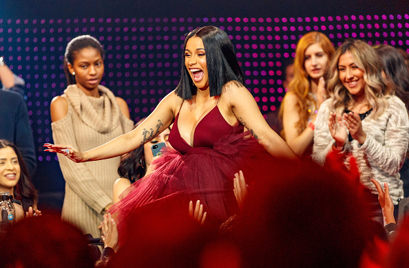 INGLEWOOD, CA - MARCH 11:  Cardi B attends the 2018 iHeartRadio Music Awards which broadcasted live on TBS, TNT, and truTV at The Forum on March 11, 2018 in Inglewood, California.