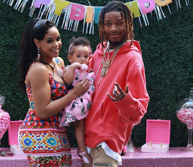 Masika and Fetty Wap's Daughter Khari Barbie first Birthday Party at W. Hotel in Hollywood.