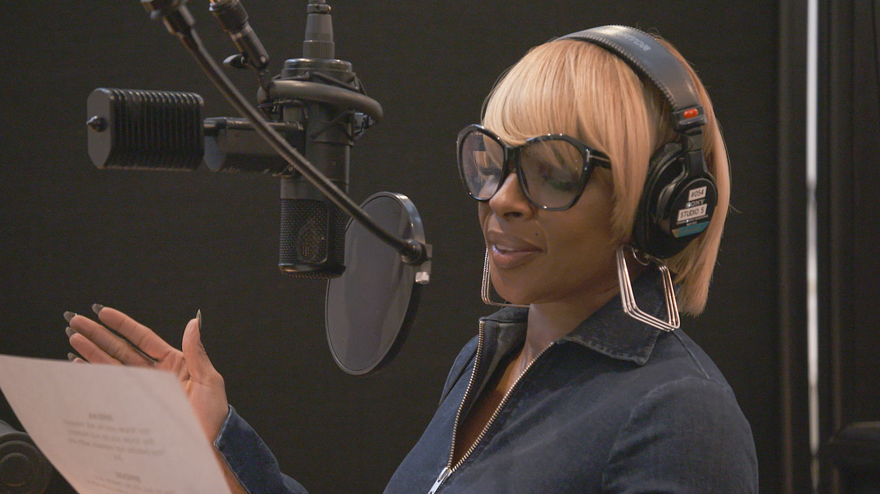 Mary J. Blige for Sherlock Gnomes from